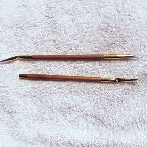 Eyeliner Brushes - set of two